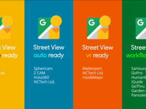 Google launches 'Street View ready' standard for 360-degree cameras