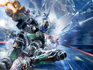 Vanquish, SEGA's unapologetically fast shooter, teased again for a PC release