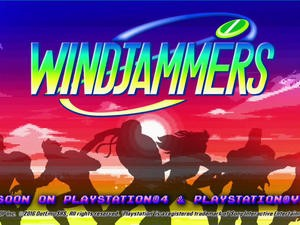 Windjammers will be your next multiplayer addiction and it's coming soon