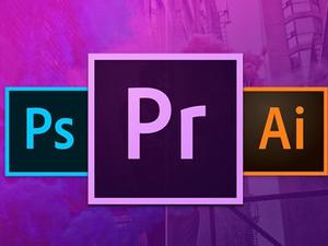 Learn everything there is to know about Adobe Photoshop, Illustrator and Premiere Pro