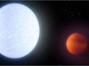 """Scorching planet said to be """"hotter than most stars"""""""