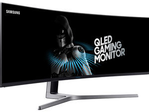 Samsung's new 49-inch display is essentially two displays in one