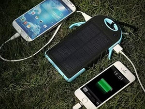 Charge your smartphone using only the power of the Sun