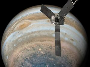 NASA's Juno spacecraft just had a close encounter with Jupiter's Great Red Spot