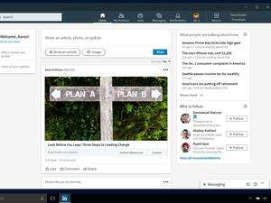 LinkedIn launches a dedicated application for Windows 10