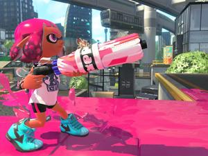 Splatoon 2 makes some resolution sacrifices to achieve a good frame rate