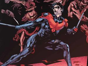 Nightwing is unique in the history of comics, says director