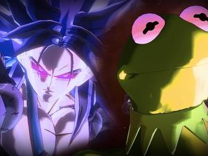 Kermit the Frog modded into Dragon Ball Xenoverse 2... just because