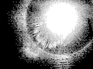 What did yesterday's eclipse look like photographed by a Game Boy Camera?