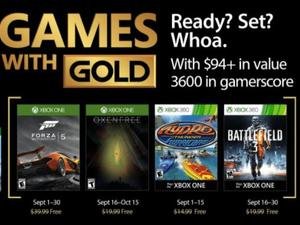 Xbox Live Games with Gold in September revs our engines for Forza and Oxenfree
