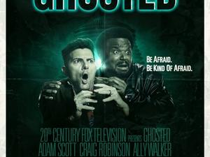 Fox's paranormal comedy Ghosted parodies The Fly, Aliens, Poltergeist in new posters