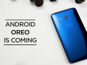 HTC U11 will get its Oreo upgrade by the end of the year