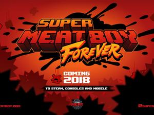 Super Meat Boy Forever is a true sequel coming to all platforms