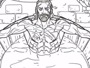 """The Witcher 3 getting an """"adult"""" coloring book featuring Geralt in the tub"""
