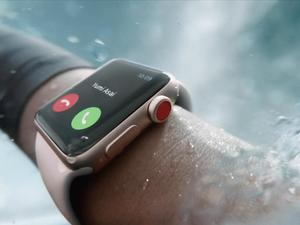 Apple Watch Series 3 announced with built-in cellular support