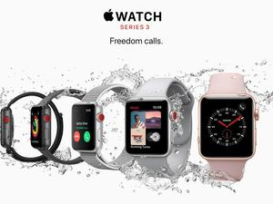 U.S. carriers set pricing for the Apple Watch Series 3 with LTE