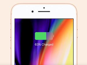 iPhone 8 and iPhone 8 Plus have smaller batteries than last year's phones