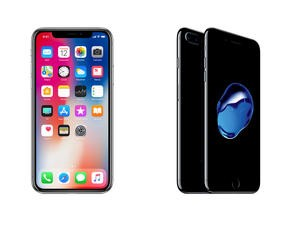 iPhone X vs. iPhone 7 Plus: Apple takes a monumental leap