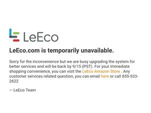 LeEco casually goes offline in the U.S. for a week