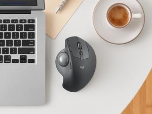 Logitech brings back the trackball with the MX Ergo