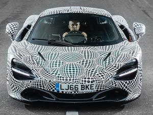 This McLaren 720S has a center driver's seat that looks like a cockpit