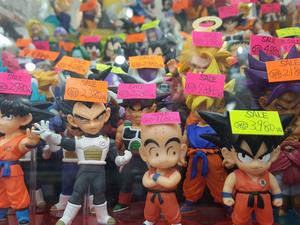 High quality figurines in Akihabara - The adventure never stops