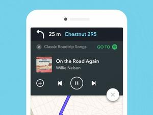 Waze for iOS adds integration with popular music streaming service