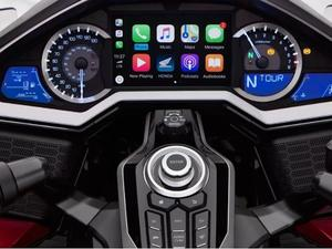 CarPlay is making its way to Honda's Gold Wing motorcycle