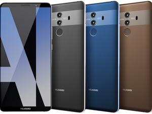 The Huawei Mate 10 Pro looks like a serious flagship