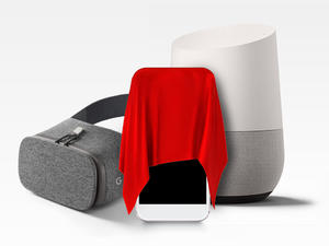 Enter for free to win a brand new Google Pixel XL, Daydream View, and Home
