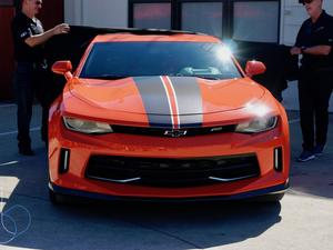 Chevy and Hot Wheels reunite for a special edition Orange Crush Camaro