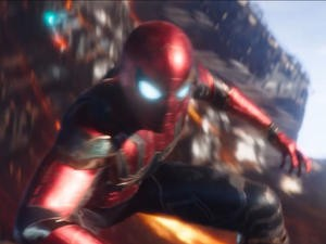Avengers: Infinity War VFX Breakdown Shows How the Iron Spider Was Brought to Life