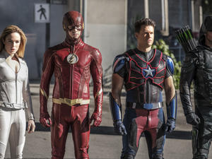 Suit up for CW's supershows' return with a group trailer