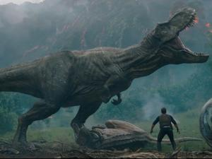 The first trailer for Jurassic World: Fallen Kingdom is a thrill ride