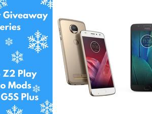 Holiday Giveaway: Moto Z2 Play & Moto G5S Plus!