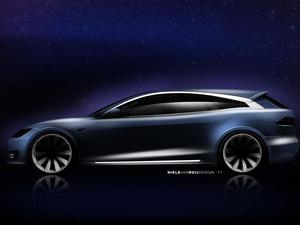 This Tesla concept adds a hatchback to the Model S, and it looks stunning