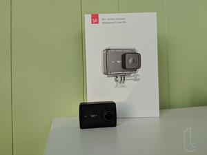 Here's the YI 4K+ Action Camera, a decent GoPro alternative