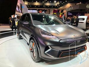Kia Niro EV concept is the stealthiest car you will ever see