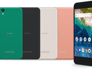Sharp's newest Android One smartphone is looking very outdated