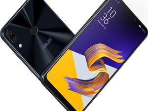 Asus ZenPhone 5 series embraces modern smartphone design, notch and all