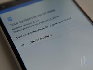 'Check for update' button on Pixel, Nexus devices finally works