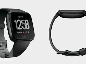 The Pebble-inspired smartwatch from Fitbit has a name