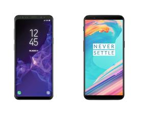 Galaxy S9 Plus vs. OnePlus 5T: Samsung asserts its Android dominance