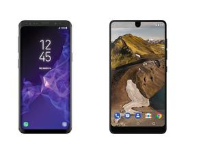 Galaxy S9 vs. Essential Phone: The difference is not that big