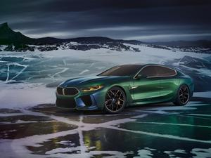 The new BMW M8 Gran Coupe concept is more of everything