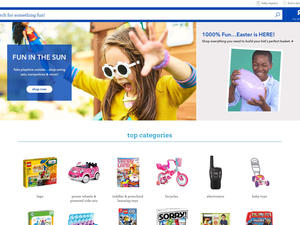 Toys R' Us shutters its website