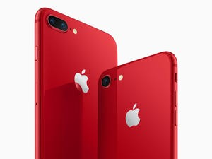 You can now buy the iPhone 8 in red