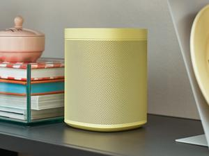 Sonos One with Alexa sports bright new colors