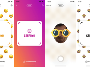 Instagram taking from Snapchat again with 'Nametags'