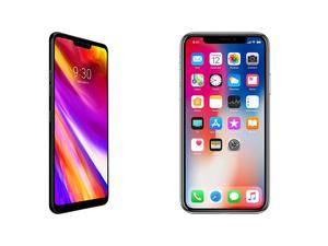 LG G7 vs. iPhone X: Meet the new notch on the block
